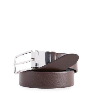 """Piquadro cintura reversibile in pelle """"MO – Modus"""" Nero/marrone CU4209MO.NM"""