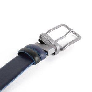 """Piquadro cintura reversibile in pelle """"B2S – Blue Square Special"""" Nero/blu CU4878B2S.NBLU"""