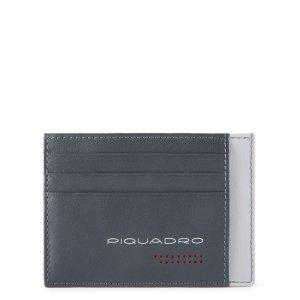 """Piquadro porta carte di credito in pelle """"UB00R – Urban"""" Grigio PP2762UB00R.GRN"""