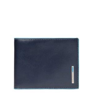 """Piquadro portafogli in pelle """"B2 – Blue Square"""" PU257B2.BLU2"""
