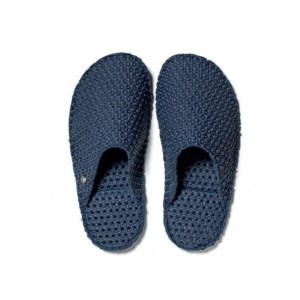 "Le DD pantofole in lattice ""Dream Slides"" Blu LE-M75.BLU"