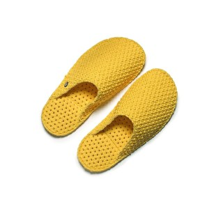 "Le DD pantofole in lattice ""Dream Slides"" Giallo LE-M75.YELLOW"