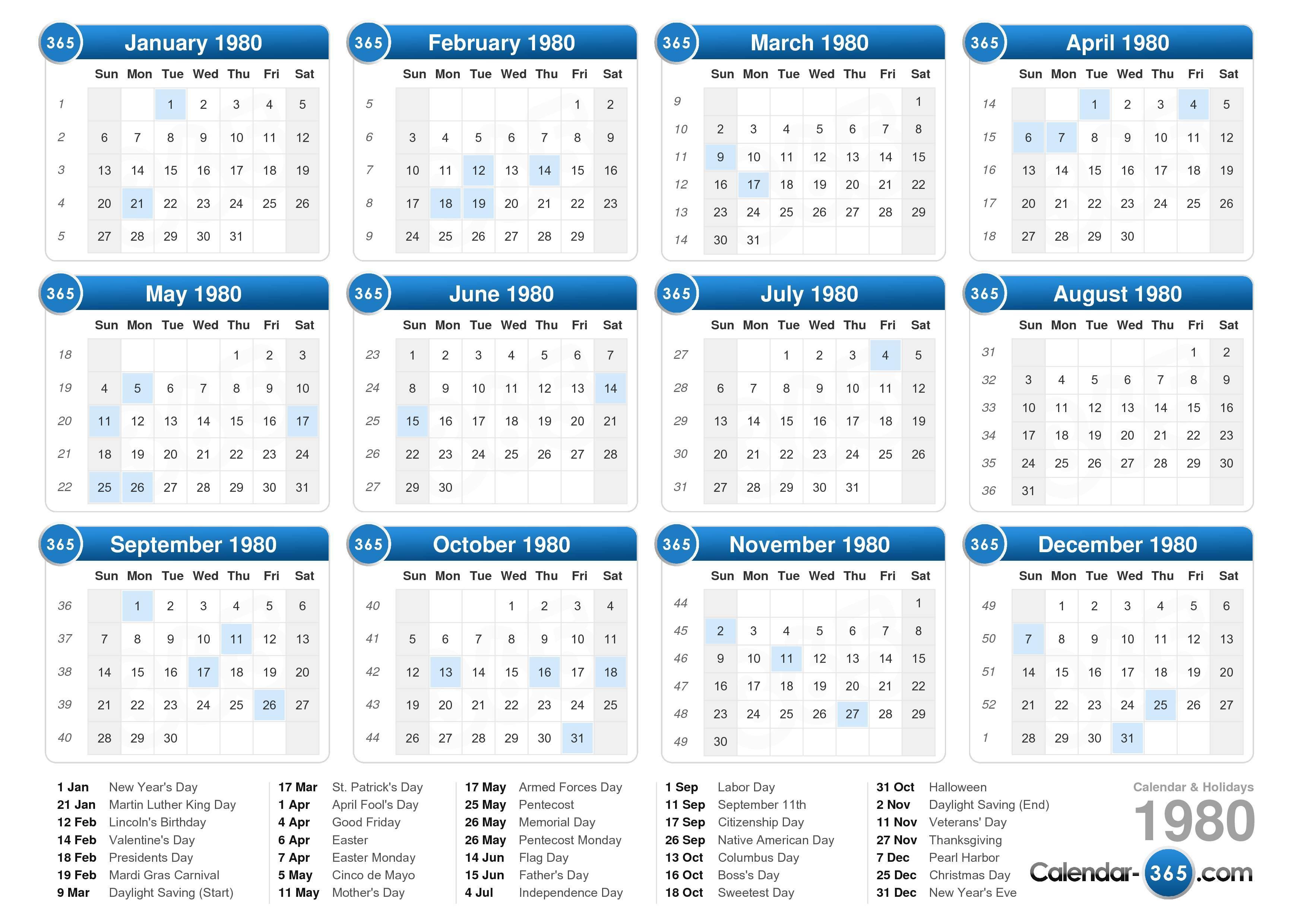 Free Pocket Chart Calendar Numbers | Create Printable Yearly Calendar