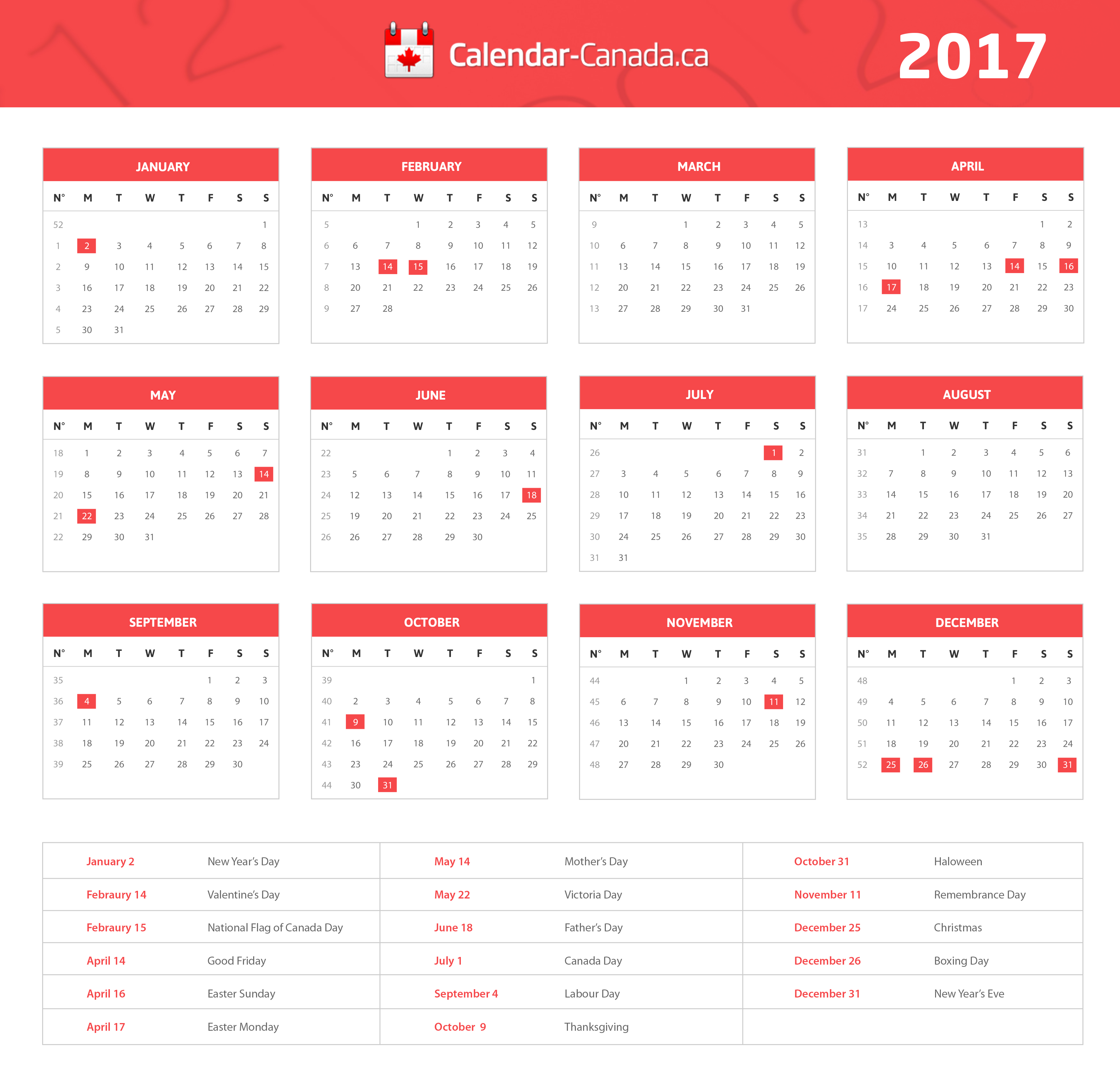 2022 calendar with canada holidays at bottom landscape layout. 2022 Holidays In Canada - Nexta