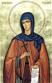 Preacuvioasa Teodora de la Sihla