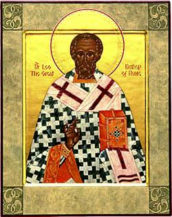 Leon cel Mare, papa Romei