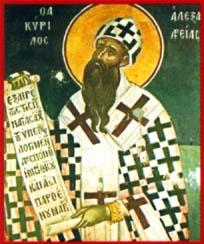 Sf. Chiril patriarhul Alexandriei