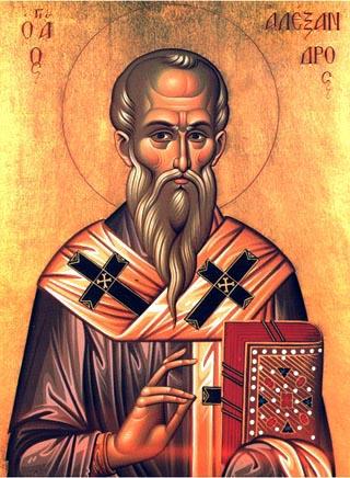 Sfântul Alexandru, Papa Romei
