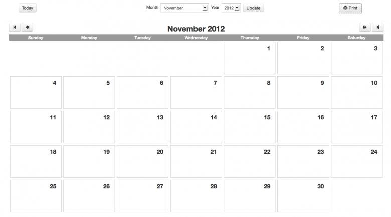 Editable Calendars For Teachers :-Free Calendar Template