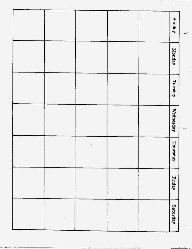 Jan Brett Calendar Grid 2016 :-Free Calendar Template