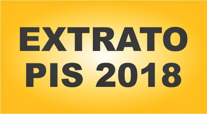 Extrato PIS 2018