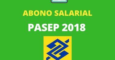 PASEP 2018 tabela pagamento consulta