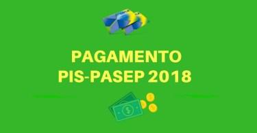 pagamento do PIS-PASEP 2018