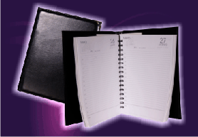 Agendas diarias de caja y memorandum de bolsillo  modelos