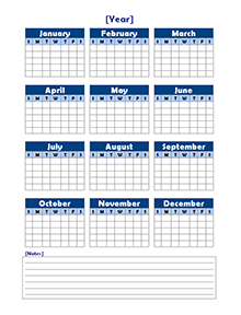 blank yearly calendar template - April.onthemarch.co