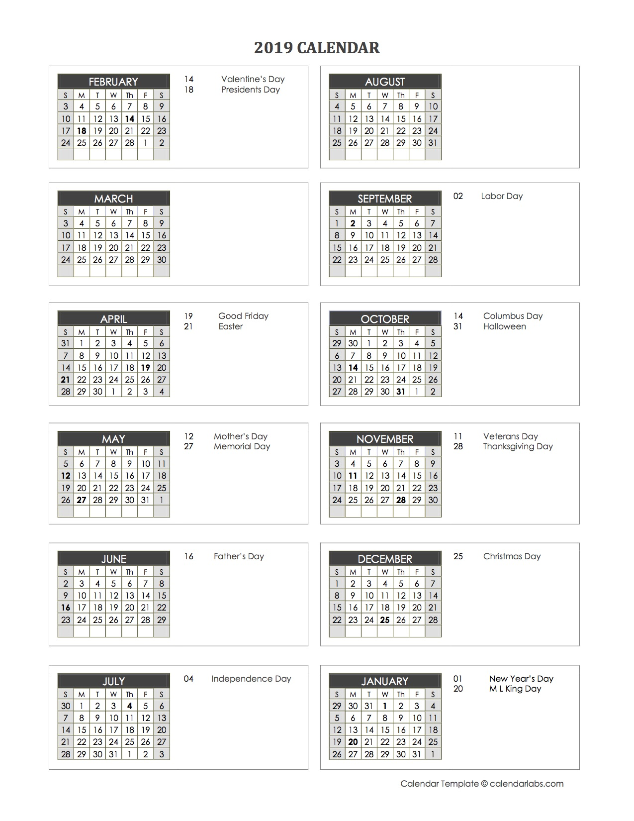 Accounting Month End Close Calendar