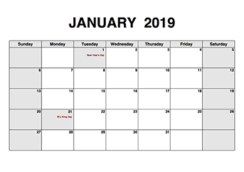 Free Printable PDF Calendar  download monthly  yearly