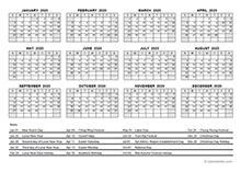 Printable 2020 Hong Kong Calendar Templates With Holidays