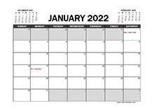 February 2022 Calendar   CalendarLabs