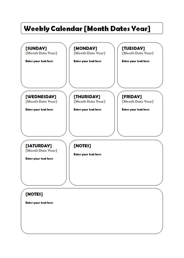 Khalil Gibran Quote Desktop Wallpaper Weekly Blank Calendar Potrait 02 Free Printable Templates
