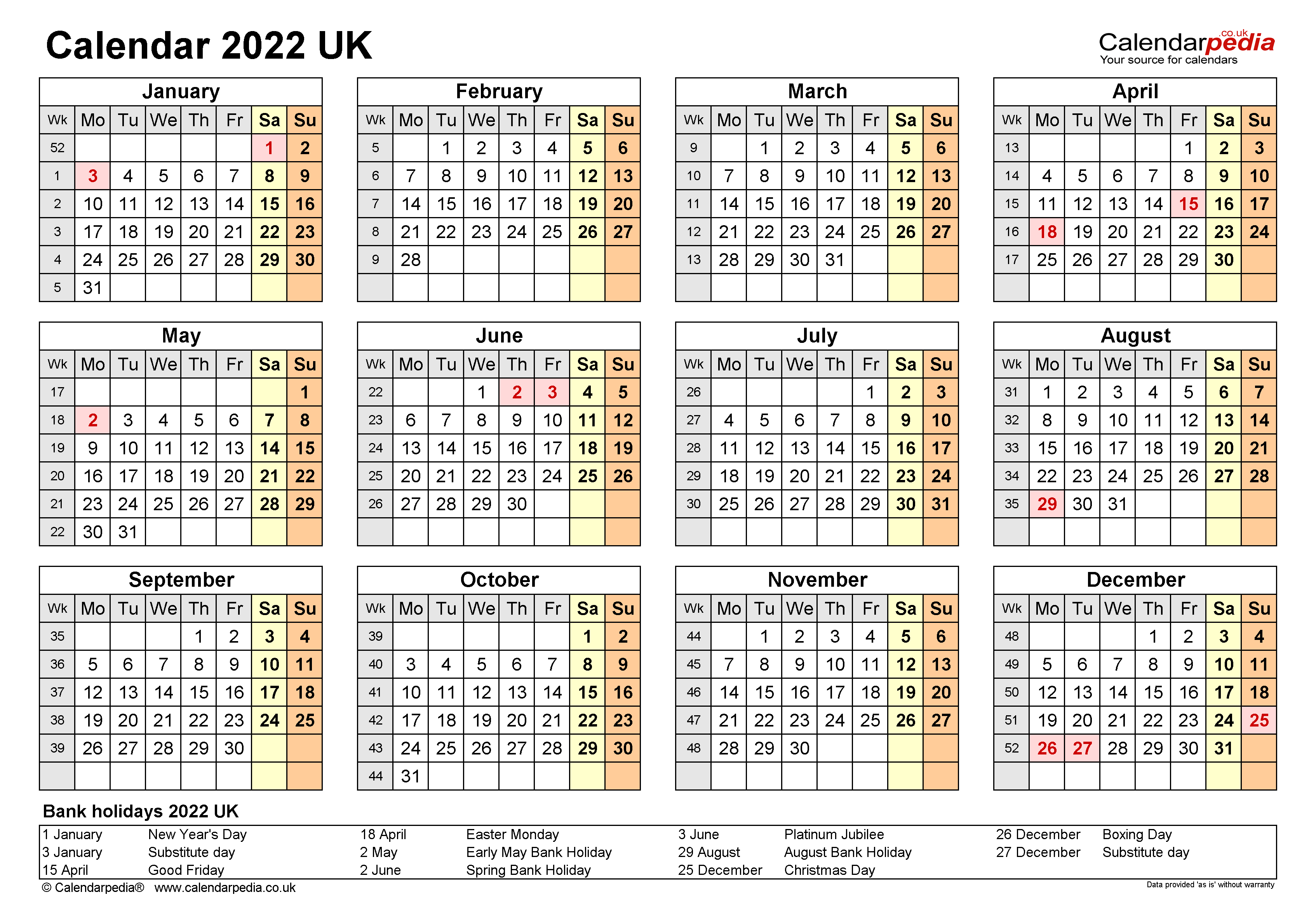Remembering bill due dates is easy with a system for noting what needs to be paid and whether you've done with these free printable bill calendars. 2022 Printable Calendar Uk : Free Printable Calendar 2021 ...