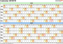 Year 2019 Calendar Nz With Free Template School Holidays