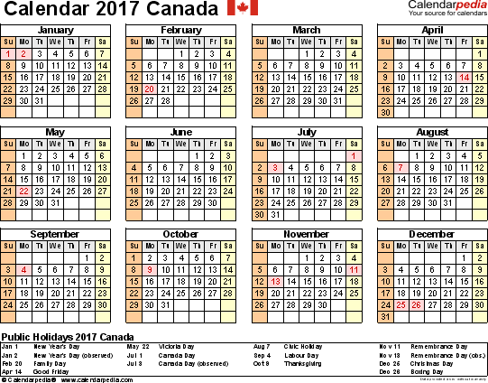 Stat Holidays Bc Canada 2017 | Sportstle.com