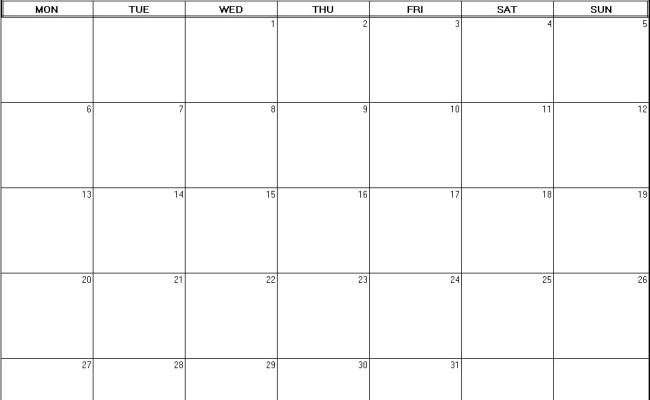 August 2012 Printable Blank Calendar Calendarprintables Net