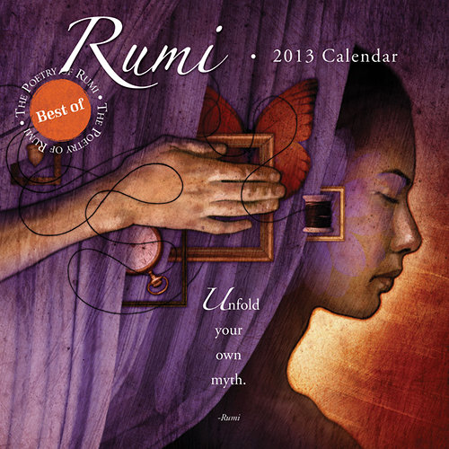 Rumi Quotes Wall Calendars 2017