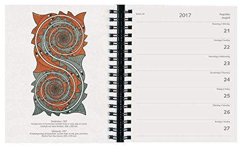 M.C. Escher art calendars and planners 2017