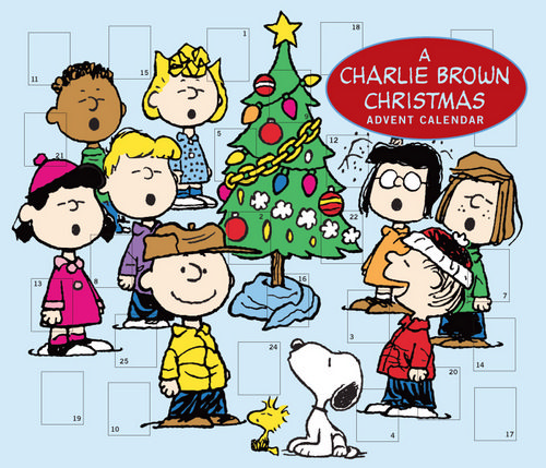 Cartoon advent calendar 2017