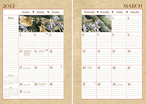 Marjolein Bastin weekly planners 2017