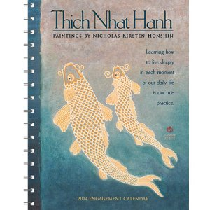 Fish in a Thich Nhat Hanh Planner featuring Honshin