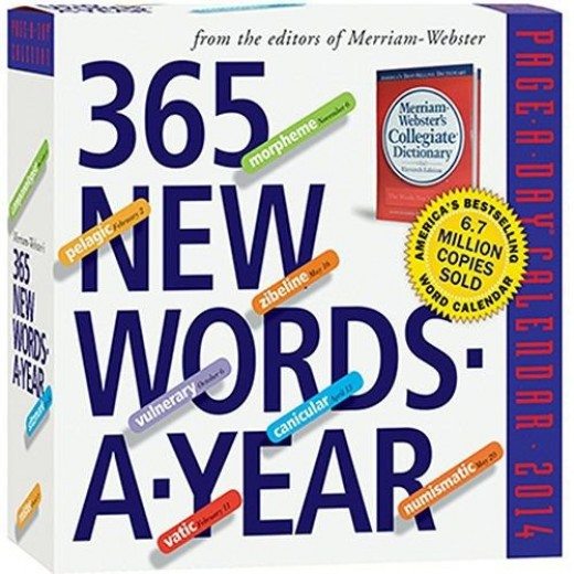 365 words a day - trivia desk calendar
