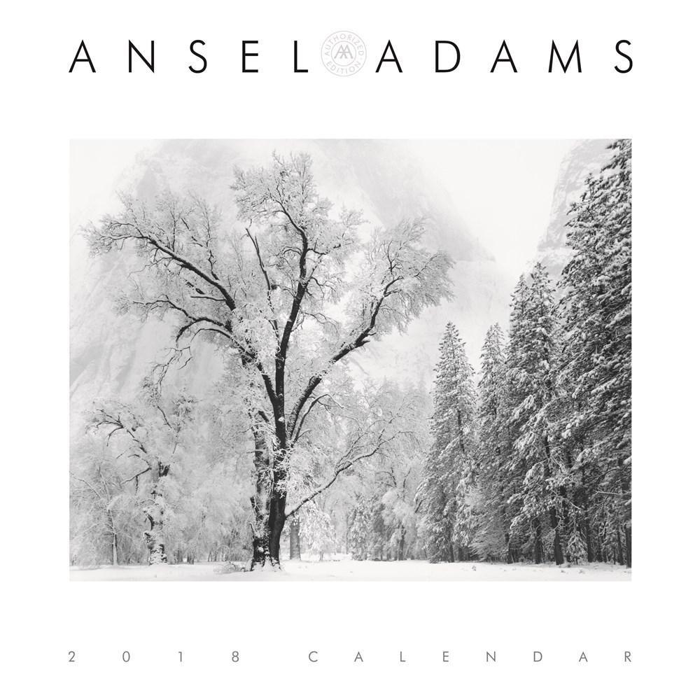 Ansel Adams photography calendar and planner 2017