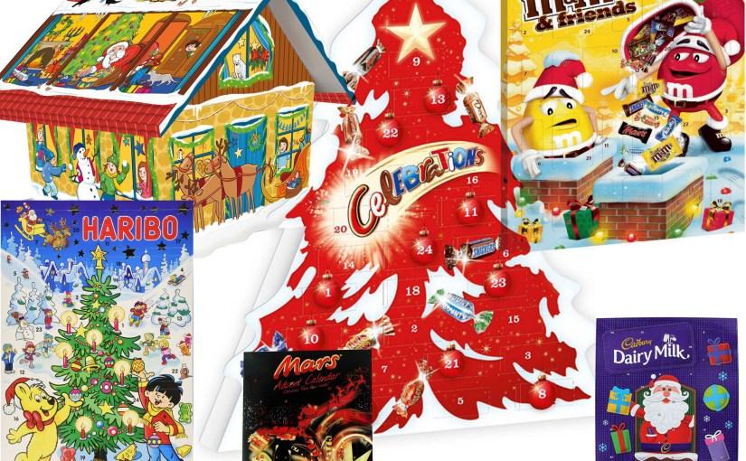 Chocolate Candy Advent Calendars 2019