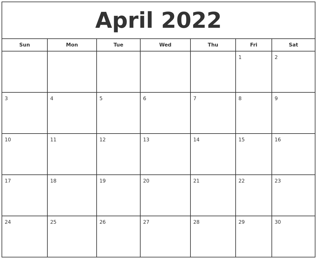 Time rules our lives, with appointments and deadlines guiding us through our days. May 2022 Make A Calendar