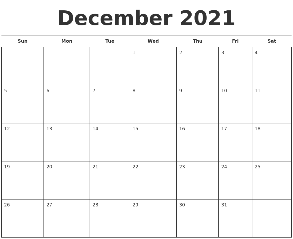 Image Result For Monthly Calendar Template