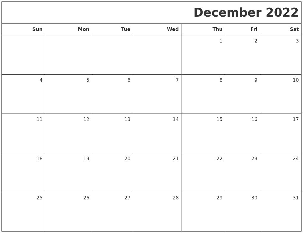 October 2022 Calendars To Print
