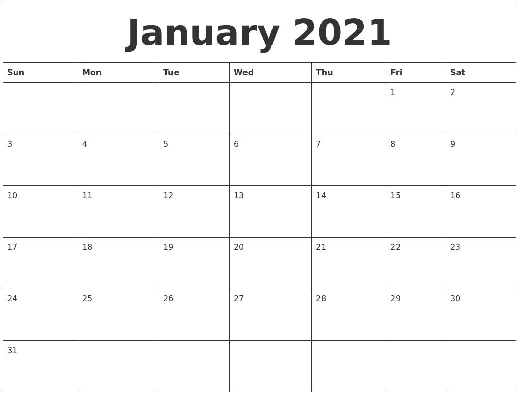 Image Result For Online Printable Calendar