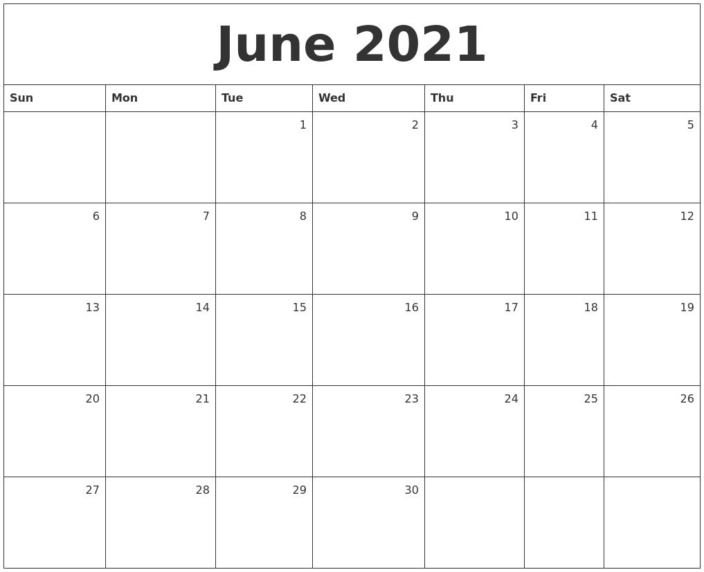 March 2021 Calendar Template