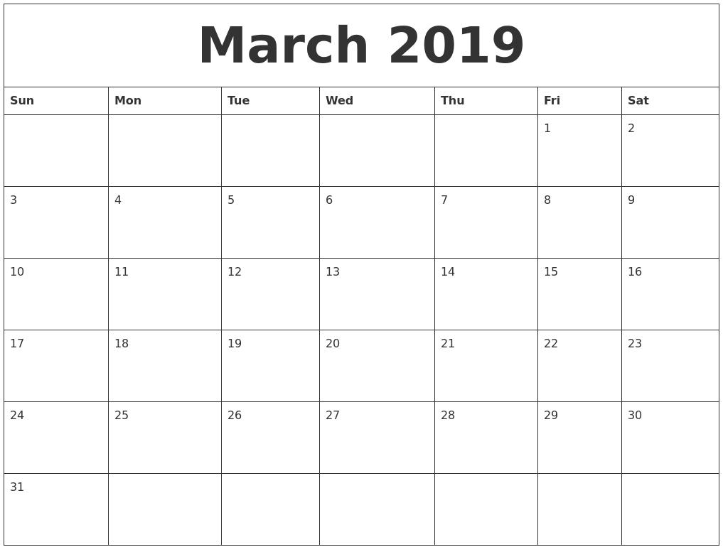 Image Result For Printable Large Calendar