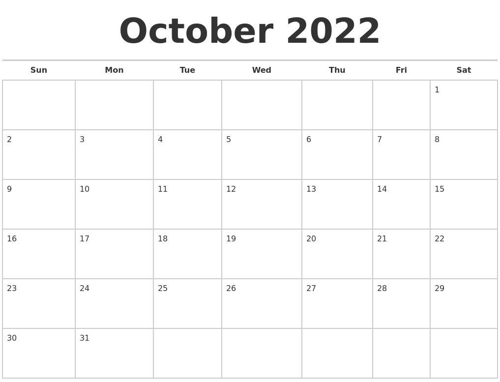 March 2023 Calendar Maker