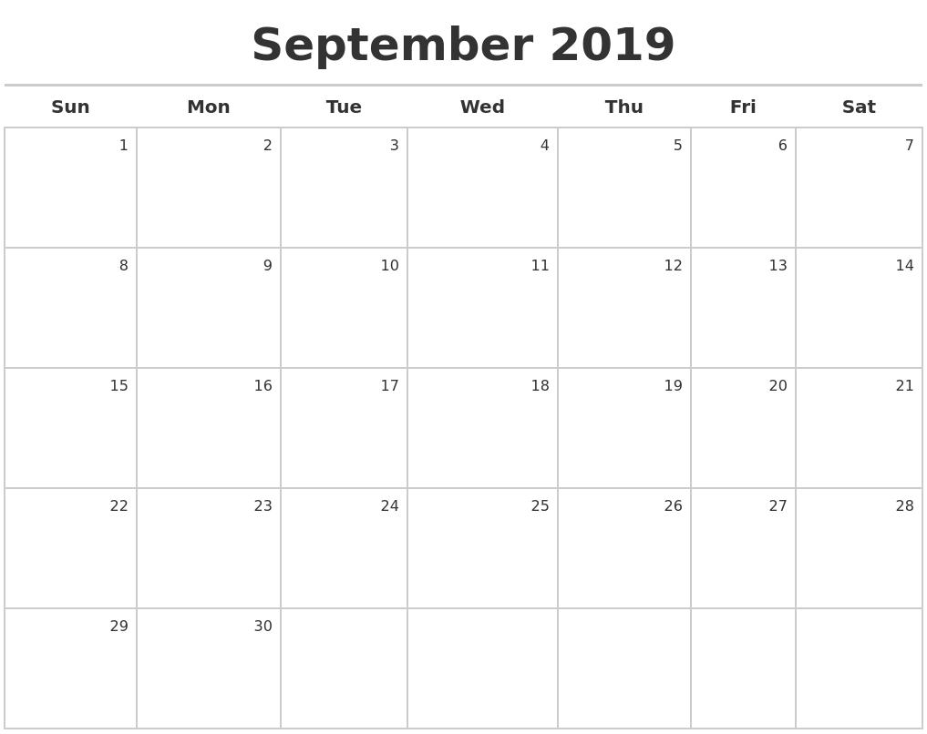 Image Result For Printable Calendar Maker