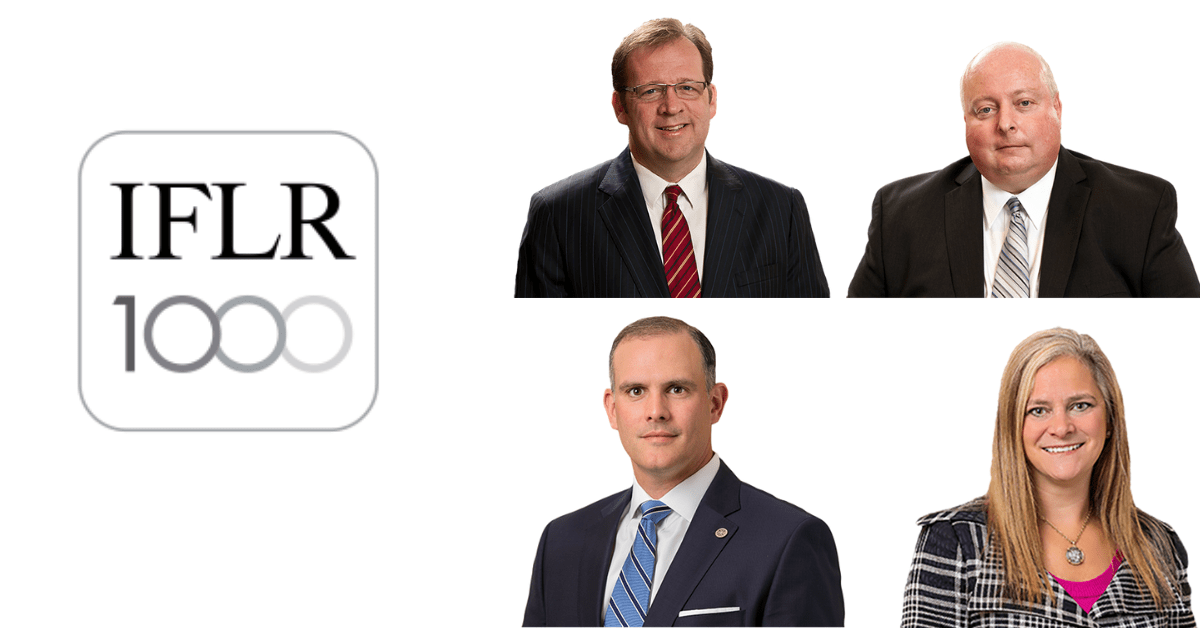 Four Calfee Attorneys Recognized by The International Financial Law Review 1000 Guide: Calfee