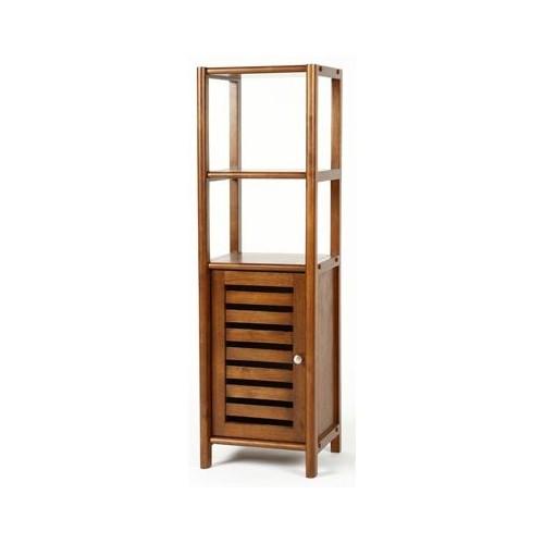 bois avec porte de meuble auxiliaire