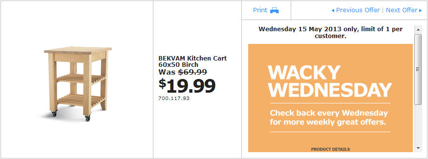 Ikea Wednesday Deals Calgary Eating Out Deals In Glasgow