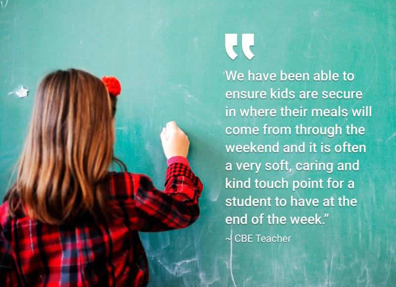 Feeding students beyond the school week