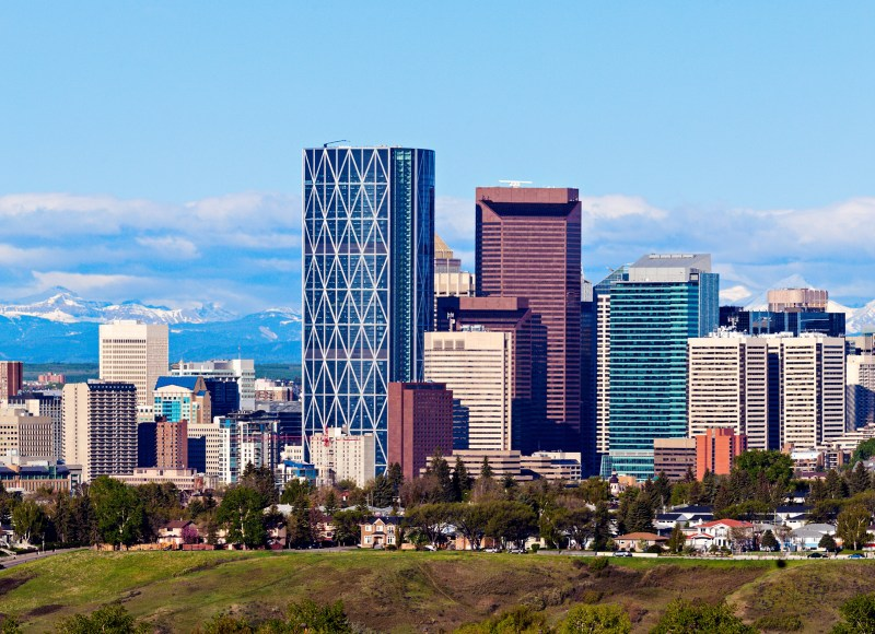 If Calgary Were 100 People