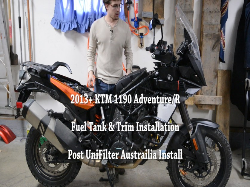 KTM 1190 Adventure Trim Installation